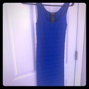 Bebe Petite Small Blue bodycon dress